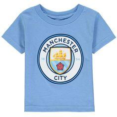 14327b1a9 Manchester City Toddler Primary Logo T-Shirt - Light Blue