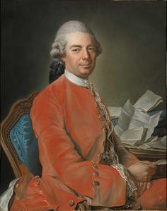 Johann Graf von Fries by Alexander Roslin