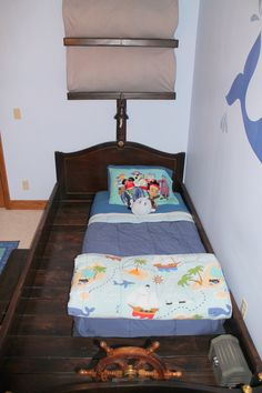 Pirate bed...Simple enough to actually do.