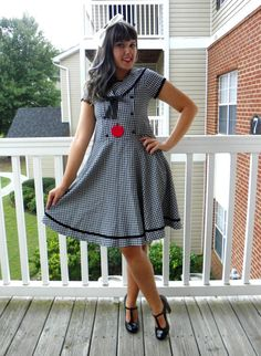 Hey, I found this really awesome Etsy listing at https://www.etsy.com/listing/247748209/1990s-vintage-black-and-white-gingham