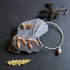 Silver Twig bracelet Branch Bangle Elven Jewellery Woodland