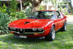1972 Alfa Romeo Montreal Photo taken by Hannes Paling in South Africa