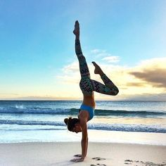9 Yoga Poses to Help You Nail a Yoga Handstand