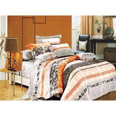 W skład kompletu pościeli Sara wchodzą dwie poszewki na poduszki oraz jedna poszwa na kołdrę. Dostępna w odcieniach pomarańczy, brązu i szarości, co stanowi ciekawy efekt wizualny. Całość uszyta została ze 100% satyny.