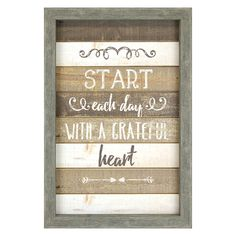 AWPB 13X22 GRATEFUL HEART | At Home