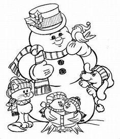 Bildresultat för Snowman Template