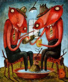 Výsledok vyhľadávania obrázkov pre dopyt Fero Lipták - tvorba Abstract Art, Painting, Illustrations, Kunst, Painting Art, Illustration, Paintings, Painted Canvas, Drawings