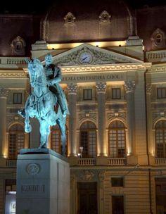 Bucharest landmarks – Biblioteca Centrala Universitara Carol I