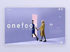 Foot in the door (Ui design landing page)