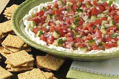 PHILLY Mediterranean Dip recipe | perfect for #spa day or party, sooo easy but so delicious