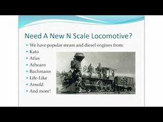 \n        N Scale Trains - Model Railroading With N Scale Trains\n      - YouTube\n