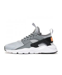 best loved 2fc7f fa242 Chaussure Nike Huarache Ultra Breathe Loup Gris Orange