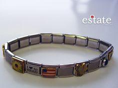 Flag stretch bracelet $20