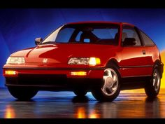1990 Honda Civic CRX Si: I couldn't believe how hard it was to find a picture of this car stock. Bottom line is: this is the genesis moment for Japan's sporty hatchbacks in the US; find one don't mod it and you will be owning a piece of history.