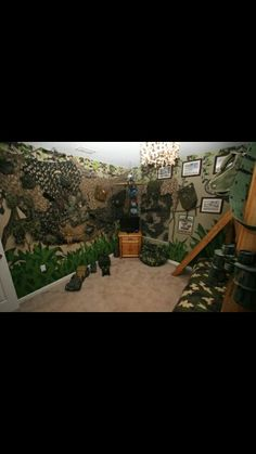 Boot Camp, Camouflage Room, Army Party Decorations, Vbs 2016, Paint Shades, Armor Of God, Camping Theme, Girls Camp, Kids Church