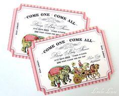 Come One Come All Invitations