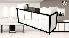 Nail Salon Furniture, Nail Salon Design, Garden Tips, Space Saving, Wall Murals, Salons, Urban, Cabinet, Interior Design