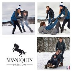 ... perfect weather for outdoor fun! Wearing Kingsland - elegant and warm - equestrian fashion from Norway. Available at our stores! #winter #fashion #fun #kingsland #kingslandequestrian #equestrian #equestrianfashion #mannequin #trencin #slovakia