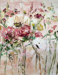 Peonía flores arte p