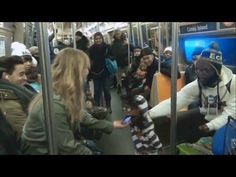 #Funny #Ventriloquist On The Subway