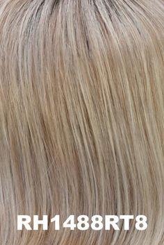 Estetica Wigs - Sky | NameBrandWigs.com Pearl Blonde, Copper Blonde, Light Ash Blonde, Golden Blonde, Soft Bangs, Full Bangs, Aloe Vera Gel For Hair Growth, Gold Blonde Highlights, Lob Styling