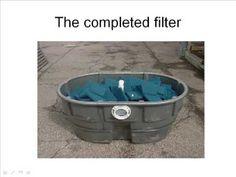 DIY Pond Filter (Skippy Design) video and links