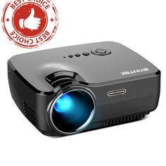 BYINTEK Brand SKY GP70 Portable Mini LED Projector //Price: $128.99 & FREE Shipping //     #CelebrityFashion Projector Price, Led Projector, Wholesale Fashion, Wholesale Clothing, Luxury Branding, Sky, Free Shipping, Watches, Mini