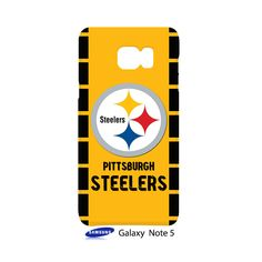 Pittsburgh Steelers Samsung Galaxy Note 5 Case Cover Wrap Around