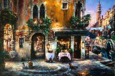 Evening in Venice 1991 by Cao Yong