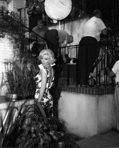 Marilyn during the filming of Something's Got To Give, 1962.