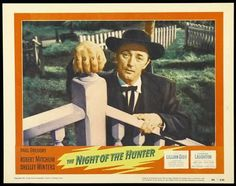 The Night of the Hunter (1955) Robert Mitchum, Shelley Winters