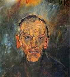 Ludwing Ritter von Janikowsky Artist: Oskar Kokoschka Completion Date: 1909 Style: Expressionism Genre: portrait Tags: male-portraits