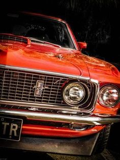 Vintage Trucks Muscle Photographic Print: Vintage Retro American Car by David Challinor : - Toyota Celica, Toyota Supra, Ford Mustang Convertible, 1966 Ford Mustang, Mustang Cars, Ford Mustangs, Mustang Fastback, Ford Classic Cars, Classic Chevy Trucks