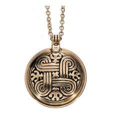 Kalevala Koru / Kalevala Jewelry / ST. JOHN'S ARMS PENDANT, material: bronze or silver