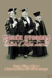 The #Three #Stooges #poster: #Institute of #Higher #Learnin (24'' X 36'') Only $5.97 at www.moviepostersetc.com