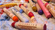 Oil pastel techniques