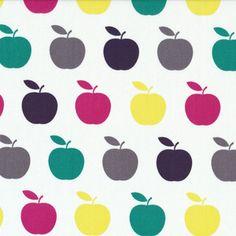 Day 354 | Stof House Designer - Uno - Apples in Rainbow
