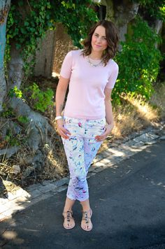 Fancy Footwork and Florals - Outfit Post ~ Bang On Style