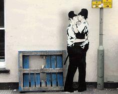 O artista ABVH conseguiu transformar alguns dos mais famosos graffitis de Banksy em gifs animados e mostrar um pouco mais sobre como seriam essas obras com vida