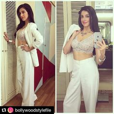 Repost @BollywoodStylefile Divya Khosla Kumar for Colors Party tonight in Deme by Gabriella Geisha Designs @bollywoodstylefile  . . Pantsuit  @demebygabriella Top   @geishadesigns Jewellery   @amrapalijewels Hair  @aasifahmedofficial Makeup   @jacobsadrian Styled by  @anishagandhi3 @rochelledsa . #bollywoodstylefile #bollywood #stylefile #india #indian #indianfashion #indianstyle #bollywoodstyle #delhi #mumbai #bollywoodactress #anishagandhi #ethnicwear #indiandesigner #colorstv #colorsparty…