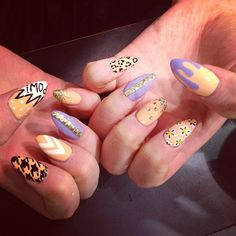 .@Z Nails | Mix and match by Wah girl Jess
