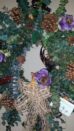 Oct 2015 Jacqueline's Simply Brilliant Eucalyptus Wreath @ $55