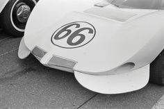 A closeup of the Chaparral nose on the car that Jim Hall drove at Candlestick Park in 1965. I had thought that the fender inlets were unique to this particular race. It was not. Hall also ran this nose configuration at Continental Divide raceway. William Hewitt photo.