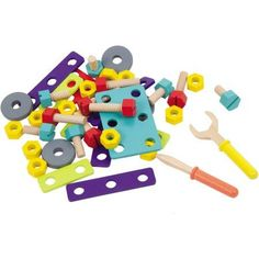 Alphabet & Language Toys & Hobbies New Boikido Magnetic Numbers & Signs Magnets Wooden Shapes Educational 55 Pieces