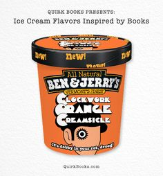 Keep Cool this National Ice Cream Month with Book-Inspired Flavors! | Quirk Books : Publishers & Seekers of All Things Awesome
