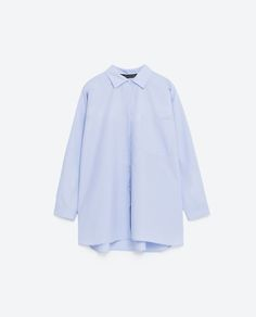 OVERSIZED SHIRT-TOPS-WOMAN-COLLECTION AW16   ZARA United States