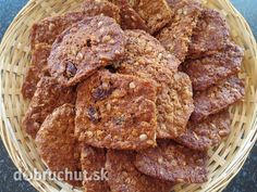 Fotorecept: Škoricové sušienky s ovsenými vločkami bez váženia