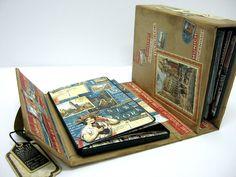 Einat Kessler Graphic 45 Audition suitcase mini album NY