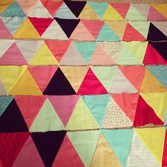 Triangles for days!by Kristin Nohe