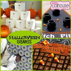 Halloween: Spooky Fun Halloween Game Ideas. Let's get our Halloween on with some fun Halloween Game Ideas to make any party spooky fun! For more Halloween Inspiration, check out these other Halloween Ideas and Parties.
